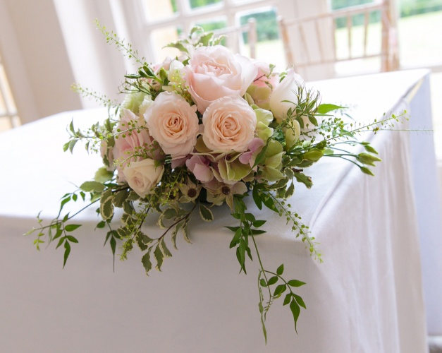 Venue Flowers by Wendy Symes