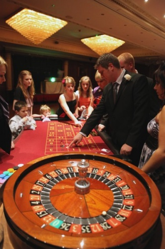 Casino Entertainment for Weddings and Special Events