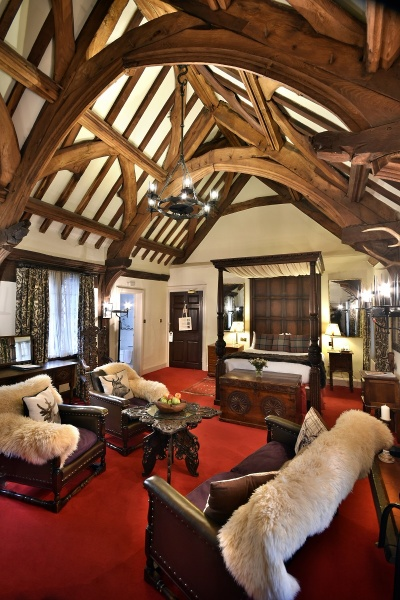 Romantic Four Poster Room, The Luttrell Arms Hotel